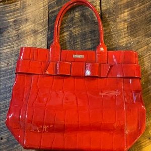 Red Kate Spade Tote